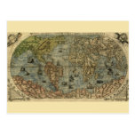 Universale Descrittione Map Post Cards