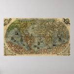 Universale Descrittione Map Print