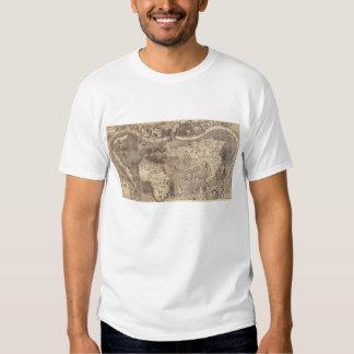 Universalis Cosmographia by M. Waldseemuller 1507 T-Shirt