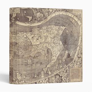 "Universalis Cosmographia de M. Waldseemuller 1507 Carpeta 1"""