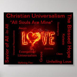 Universalismo cristiano evangélico impresiones