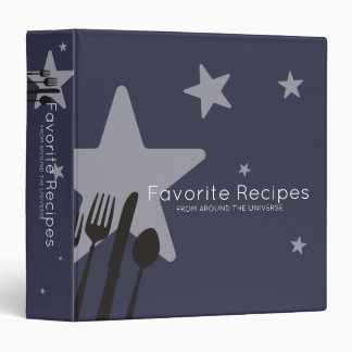 Universe 5 stars food cooking chef catering binder