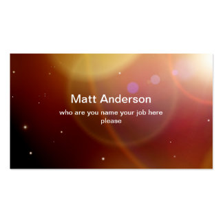 universe business card