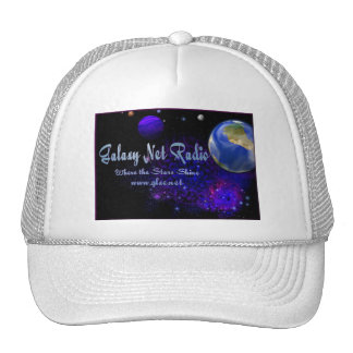 Universe cap trucker hat