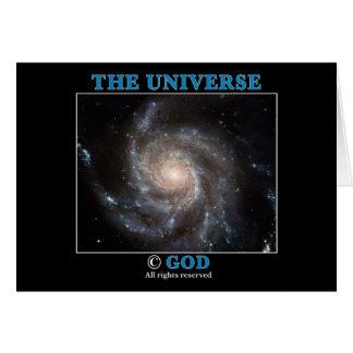 Universe Copyright Card