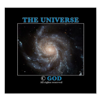 Universe Copyright Poster