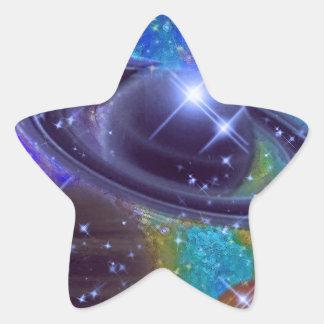 Universe Design Star Sticker