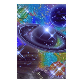 Universe Design Stationery