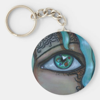Universe Eye Keychain