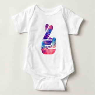 Universe 'Fingers Crossed' Baby Bodysuit