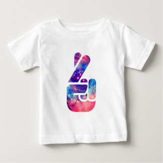 Universe 'Fingers Crossed' Baby T-Shirt