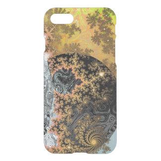 Universe Galaxy Black Bright Yellow Stars Fractal iPhone 8/7 Case