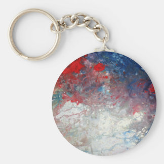 Universe - Galaxy - Cosmos - Milky Way Basic Round Button Keychain