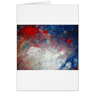 Universe - Galaxy - Cosmos - Milky Way Card