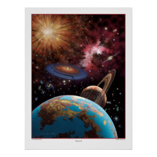 Universe II Print