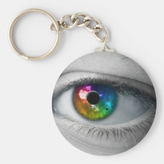 universe in our eyes keychain