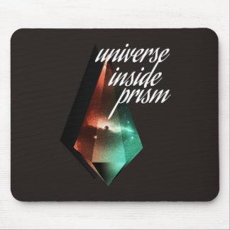 Universe inside prism mouse pad