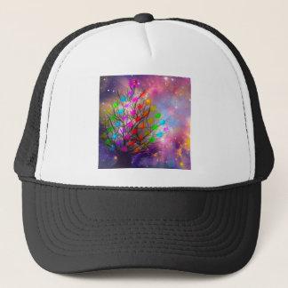 Universe is plenty of love, hearts and stars trucker hat