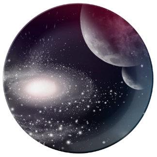 Universe Porcelain Plates