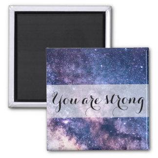Universe Motivational Message-Affirmation Magnet