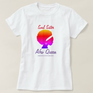 Universe of Hip Hop Afro Queen Collection T-Shirt
