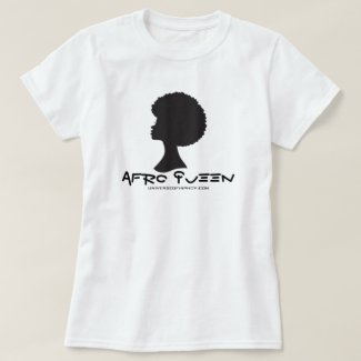 Universe of Hip Hop Afro Queen Ladies Collection T-Shirt