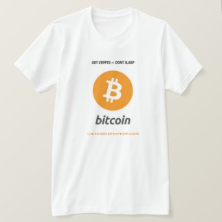Universe of Hip Hop Bitcoin Men Collection T-Shirt