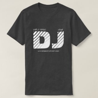 Universe of Hip Hop Famous Hip Hop DJ Collection T-Shirt