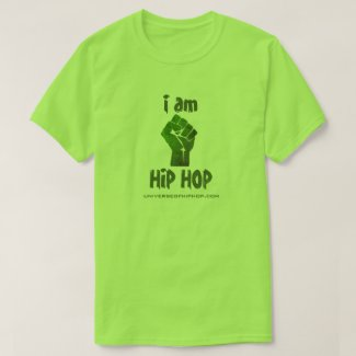 Universe of Hip Hop I Am Hip Hop Mens Collection T-Shirt