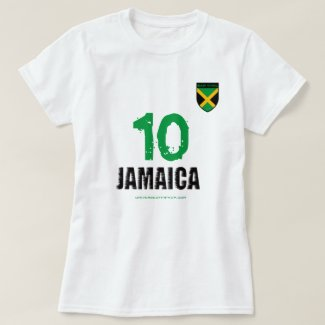 Universe of Hip Hop Jamaica 10 Collection T-Shirt
