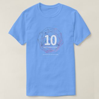 Universe of Hip Hop Mathematics 10 Collection T-Shirt
