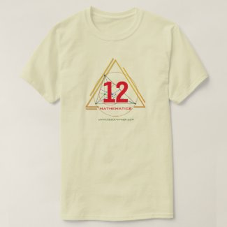 Universe of Hip Hop Mathematics 12 Collection T-Shirt