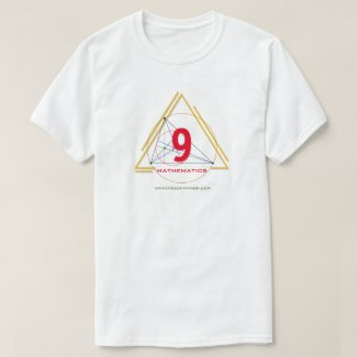 Universe of Hip Hop Mathematics 9 Collection T-Shirt