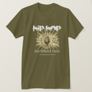 Universe of Hip Hop Microphone Mens Collection T-Shirt