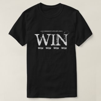Universe of Hip Hop Win Win Collection T-Shirt