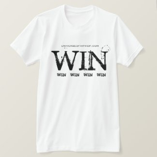 Universe of Hip Hop Win Win Win Collection T-Shirt