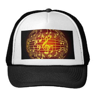 Universe of music joy and peace hats