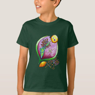 Universe of nut - pop nature green illustration T-Shirt