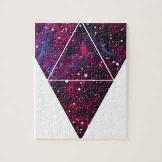 Universe Of Triangles Space Life Jigsaw Puzzle