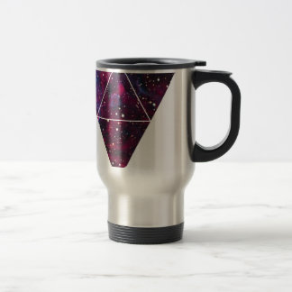 Universe Of Triangles Space Life Travel Mug