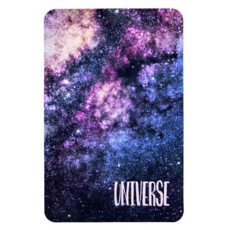 Universe photo Milky Way in Night sky Magnet