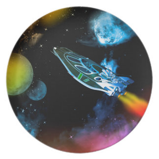 Universe Party Plate