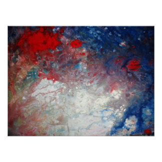 Universe Poster - Abstract Art Cosmos Milky Way