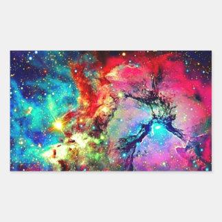 Universe Rectangular Sticker