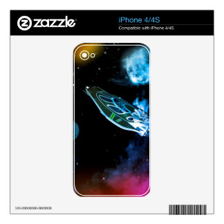 Universe iPhone 4S Decal