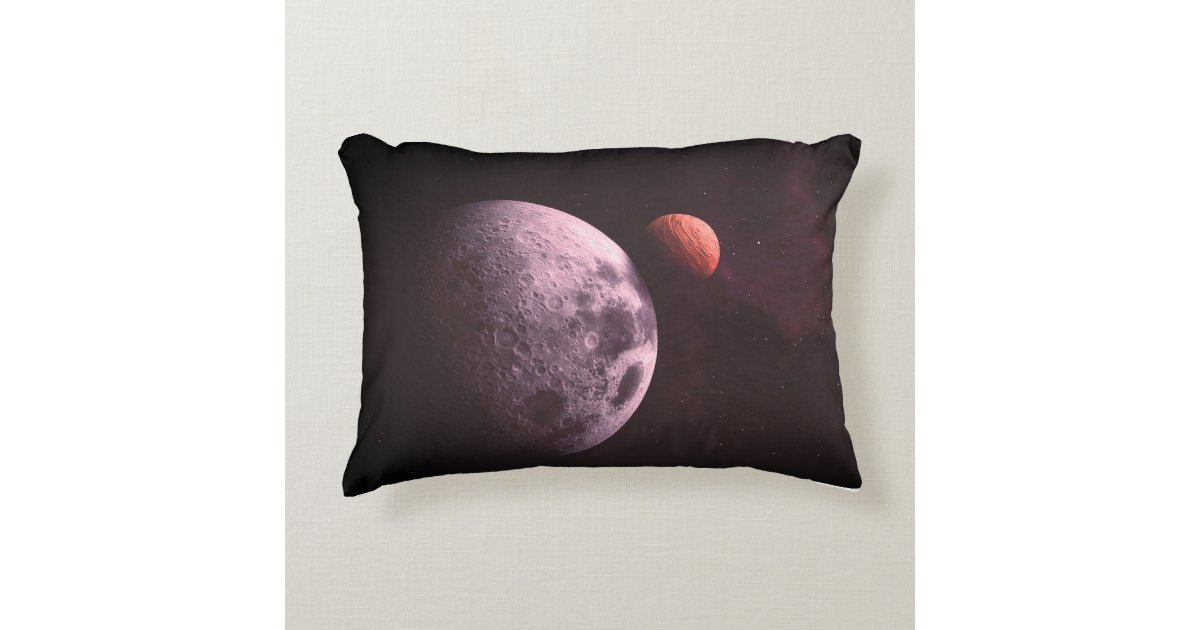 Universe Space Galaxy And Astronomy Sky Cosmos Accent Pillow | Zazzle.com
