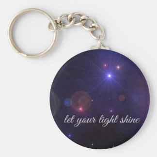 Universe Stars  Inspirational Quote Keychains