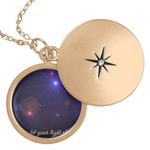 Universe Stars  Inspirational Quote Custom Necklace