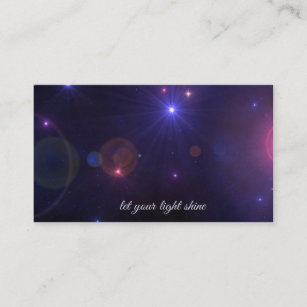Inspirational quotes business cards zazzle universe stars inspirational quote business card reheart Gallery