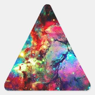 Universe Triangle Sticker